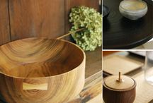 Wood Tableware