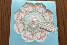 Stampin' Up! - Daydream Medallions / Projects using the Stampin' Up! Daydream Medallions stamps and framelit dies.