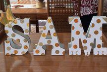 lettere decorate