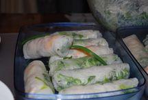 Gỏi Cuốn (Vietnamese Food)
