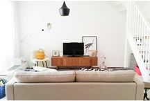 Our living room, nordic interior