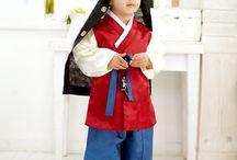 남아한복 (boy hanbok) - 벡일. 돌. 아동한복