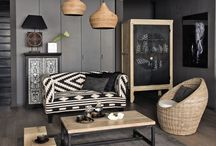 African-inspired decor