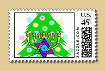 Interfaith Holidays Christmas and Hanukkah / Interfaith families enjoying both religions and family holidays always welcome to join us in holiday fun and learning.