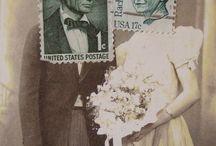 AIE - postage stamp art