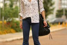 Flared jeans outfits