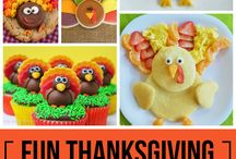 FOOD CRAFTS: Thanksgiving / Thanksgiving treats and food crafts for parties