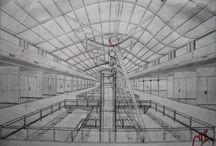 Dibujo a Mano Alzada_Academia / Dibujos Realizados en Materia Dibujo 2D-3D