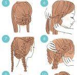 nurses hairstyle