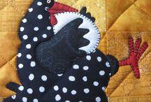 Quilt blocks -animals