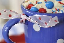 Red, White, & Blue Recipes / A perfect selection of recipes for Patriotic Holidays!