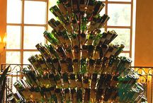 Wine bottle & cork recycling