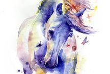 Equine Art / Horse-inspired art
