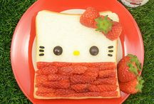 hello kitty / Bento lunches in het thema Hello Kitty