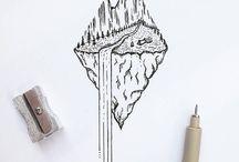 inspiracje rysunki