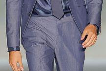 Male formal catwalk