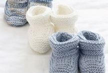 Baby Bootees- Knit and Crochet