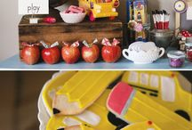 Back to school birthday party / by Carrie Lundell