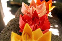 Birthday Party--Origami theme