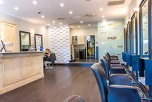Our salons / Feel like a movie star in one of our glamorous backstage salons.  And discover the Kérastase / l'Oréal hair treatment to make your hair beautiful and shinier.