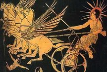 Phaetons and Helios/Apollos Chariot