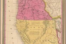 California Antique Maps / Antique maps of California show the dramatic changes in the states geographical and political situation over time. Vintage maps of California often show the growth of railroads, counties and cities in The State of California. Old maps of California, including antique maps of San Francisco, Los Angeles and San Diego can be found here.