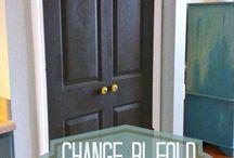 Home Crafts & DIY-Hall doors