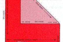 Grainlines/Selvedge/Bias