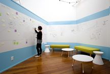 Brainstorming Sessions / A space to create, imagine and discuss with co-workers.