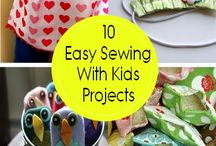 Sewing Projects for weekly class / Easy sewing projects to teach to group