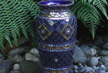 Mosaic urns