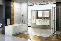 Concept Chrome / Un concept moderne et design, pour toutes les salles de bains