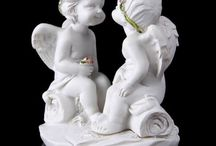 Figurines of Angels, dolls / a lot of small beatiful figurines - angels, dolls and etc.