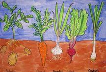 Incorporating gardening into class