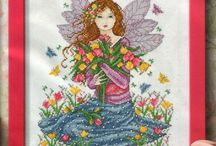 Cross Stitch (Fairies & Mythical) / Cross Stitch Patterns of Fairies and mythical / by carol