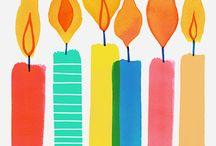 Celebraciones / Birthdays, etc.