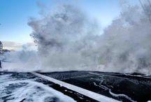 Tempête et marée / Images et photos de tempêtes en Bretagne et de grandes marées à Saint-Malo