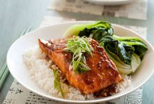 Salmon Recipes / by Roy Kelley