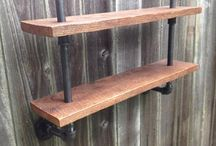 Pipe Shelving/other ideas