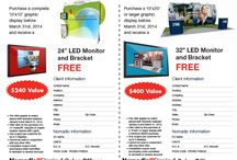Sales Office Promotions / Current promotional offers from Nomadic Display Sales Offices