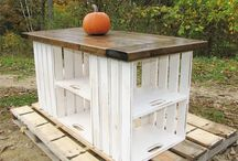 Pallet furniture / Some ideas for wedding party furniture.