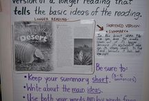 Education:  Main Idea and Summarizing / by Debbi Kassin