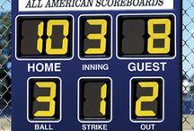 Outdoor Scoreboards / Outdoor scoreboards and multi-sport scoreboards both portable and permanent.  http://www.headcoachsports.com/scoreboards/outdoor-scoreboards