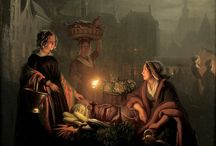 Candlelight in paintings