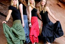 Black Pearl Skirts / Available at www.justdremware.com.