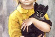 Artist inspiration - Margaret Keane