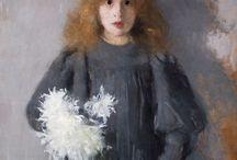 painting - boznańska.