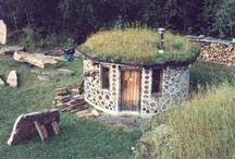 Cordwood building and other organic structures