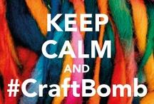 Craft - Yarn - Bombs / by Mama Womble