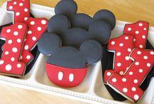 mickey mouse narozeninový dort